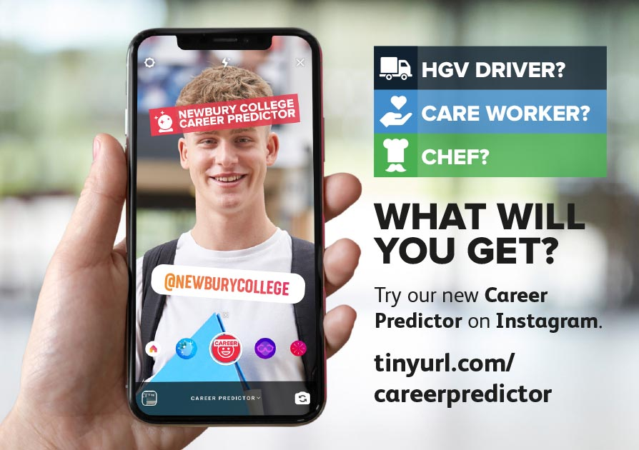 Try our new Career Predictor on Instagram